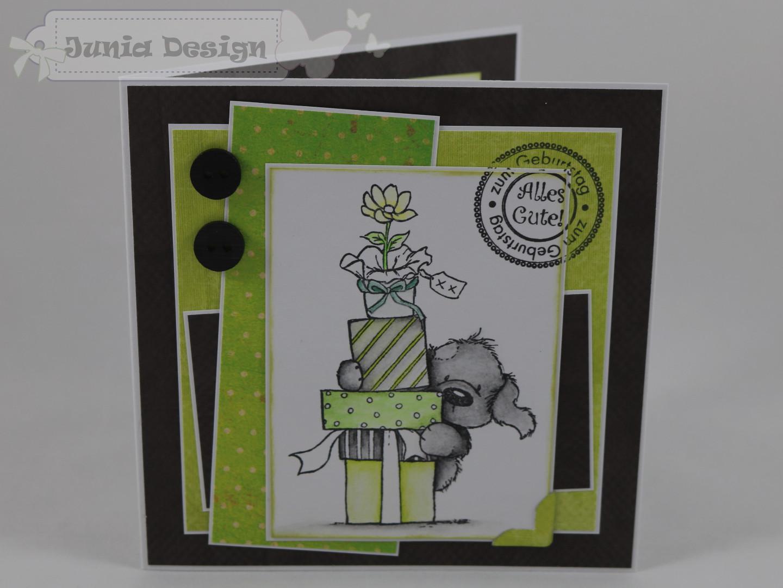 Geburtstagskarte Hund a