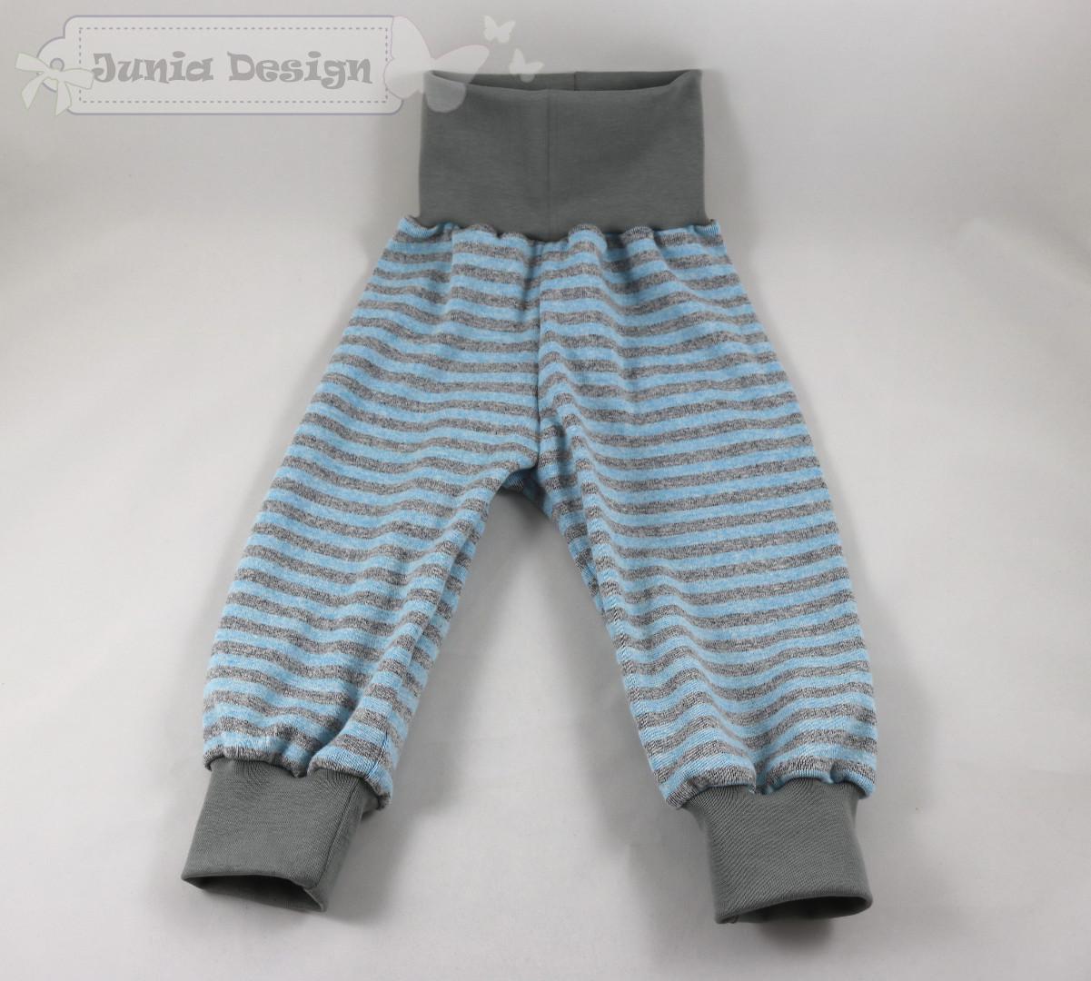 Streifen blau/grau a