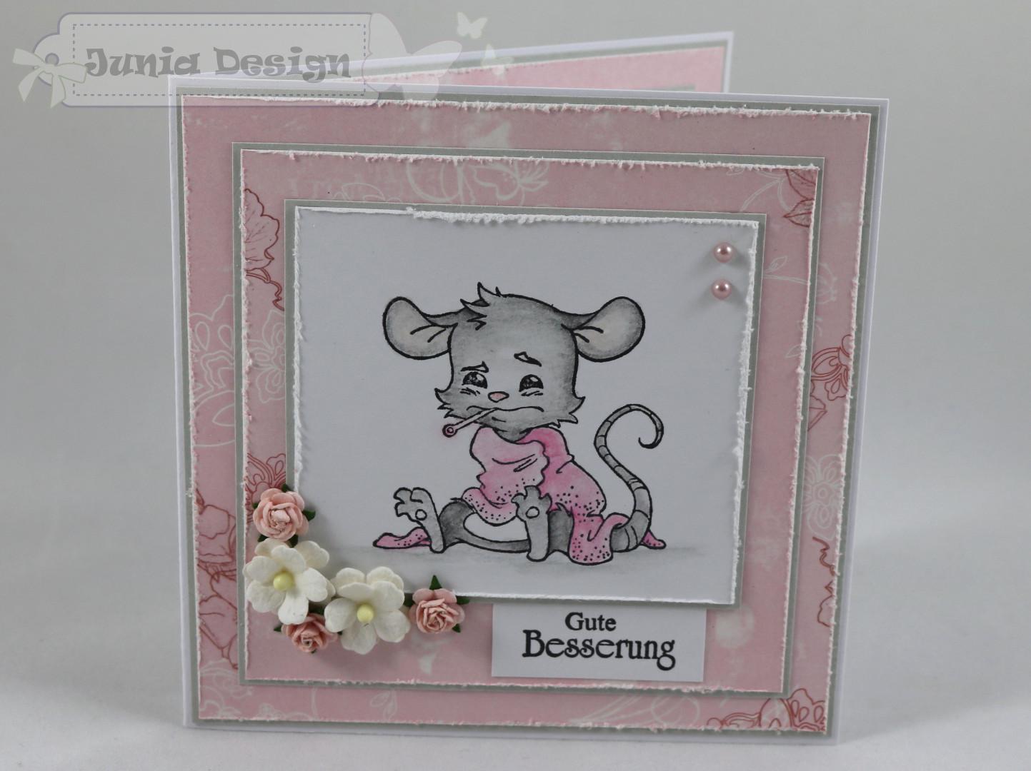Genesungskarte Maus a