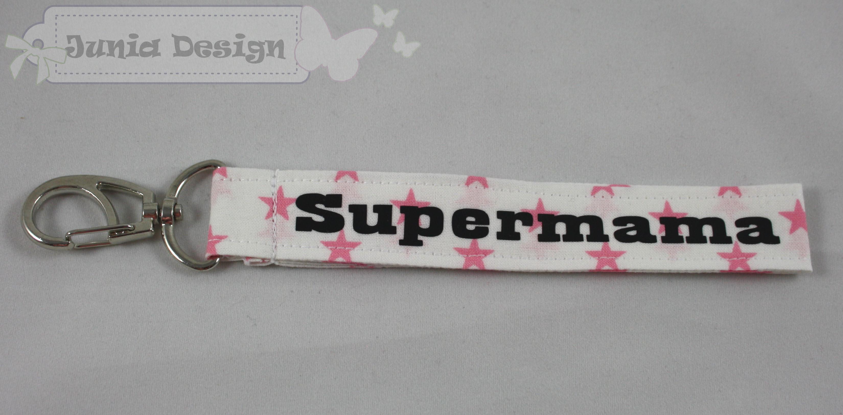 Schlüsselband Supermama 1