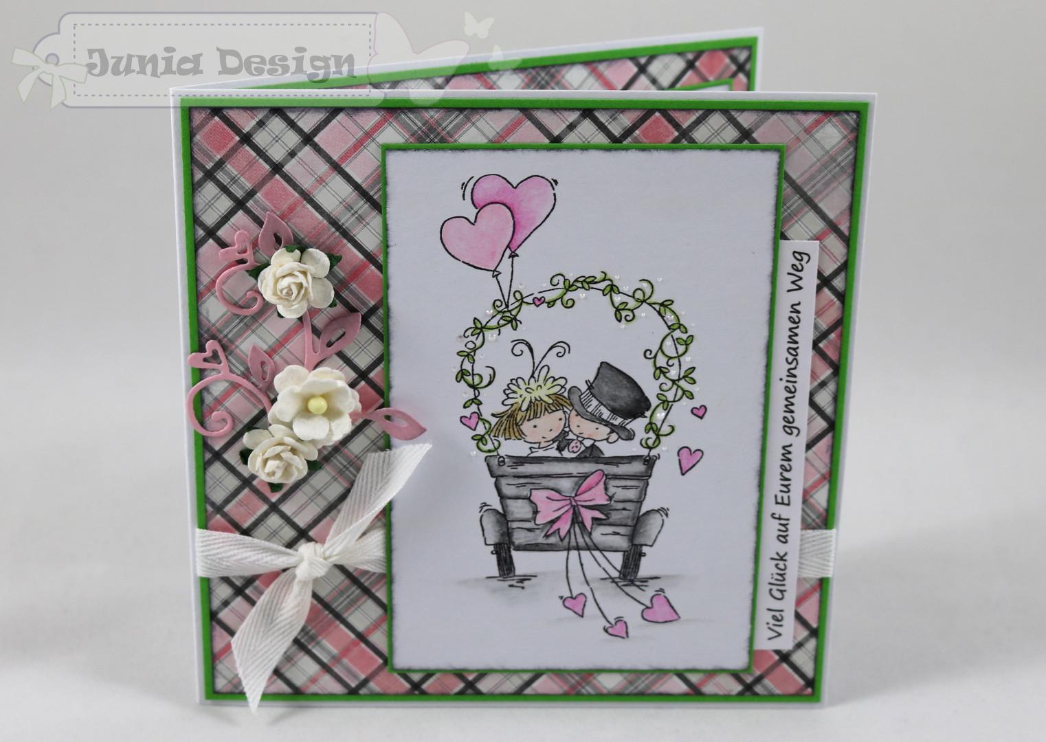 Hochzeitskarte a
