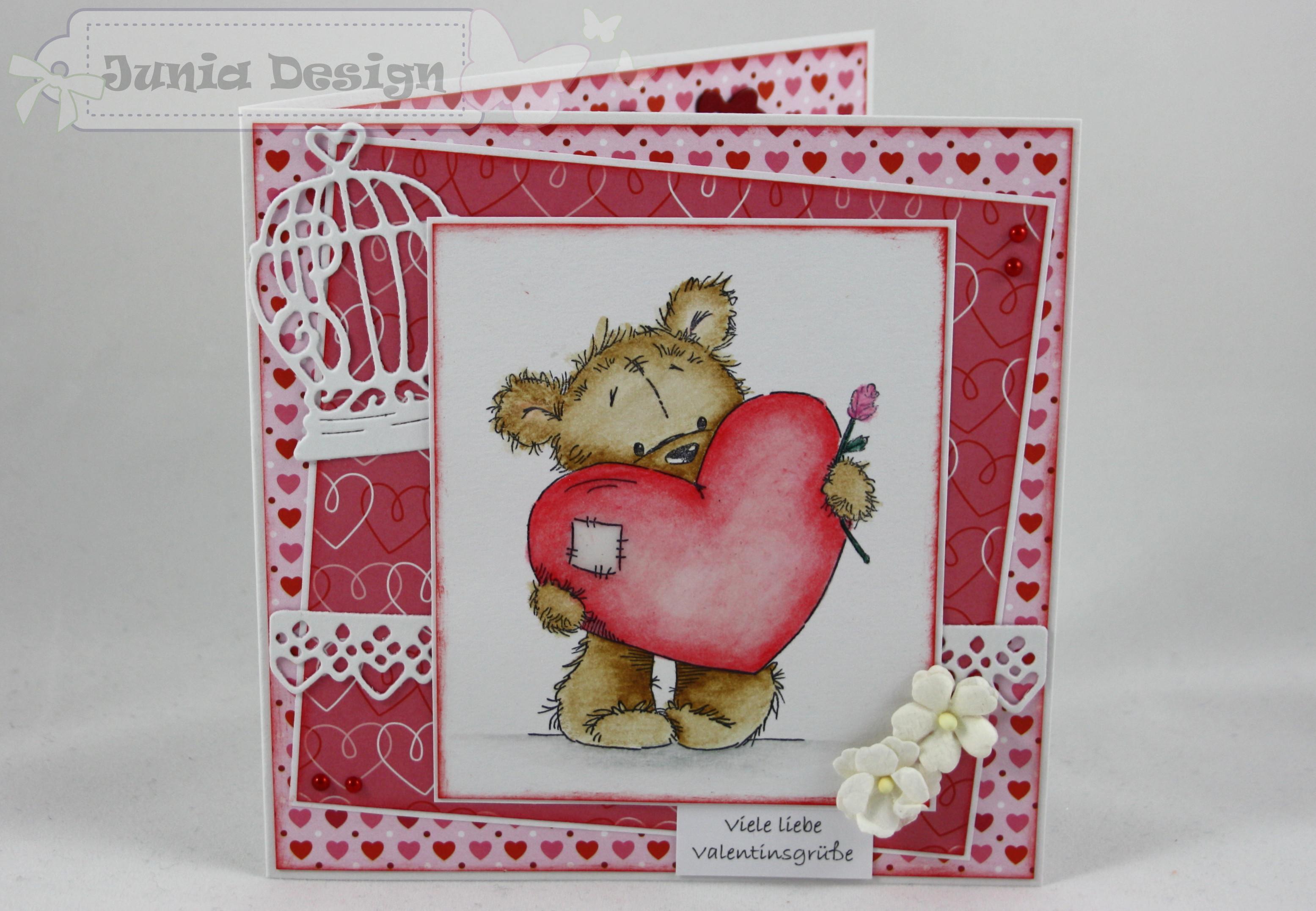Valentinskarte Bär 1