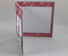 Genesungskarte rosa/grau c