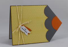 Artikelbild Stifte Karte gelb/orange