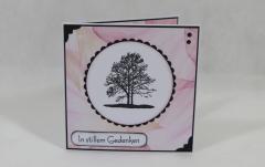 """Artikelbild Trauerkarte """"Baum"""""""
