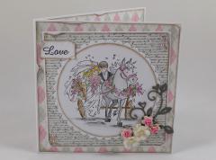 Artikelbild Hochzeitskarte LOVE