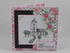 Artikelbild Hochzeitskarte Kirche