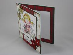 Weihnachtskarte Elfe c
