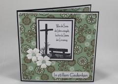 Artikelbild Trauer Karte Kreuz