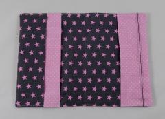 Mutterpasshülle rosa/Sterne b