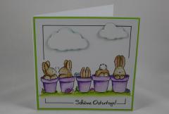 Artikelbild Osterkarte Hasenparade