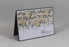 Artikelbild Hochzeitskarte Blumen