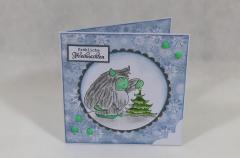 """Artikelbild Weihnachtskarte """"Yeti"""""""
