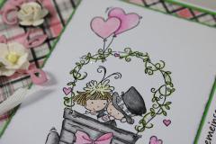 Hochzeitskarte d