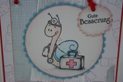 Genesungskarte Schnecke 2