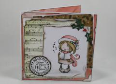 Artikelbild Weihnachtskarte *Mädchen*