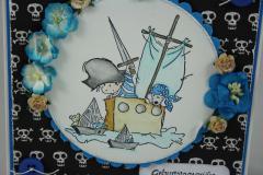 Geburtstagskarte Pirat 3