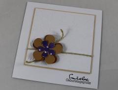 CAS Karte Blume b