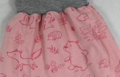 Artikelbild Gr. 50/56 *Tierkinder rosa*