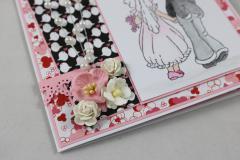 Hochzeitskarte Perlen d