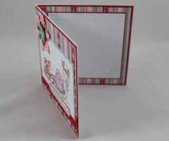 Weihnachtskarte zwei Schnecken c
