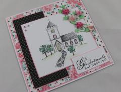 Hochzeitskarte Kirche b