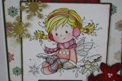 Weihnachtskarte Elfe b