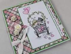 Hochzeitskarte c
