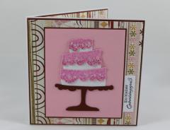 Artikelbild Geburtstagskarte Torte
