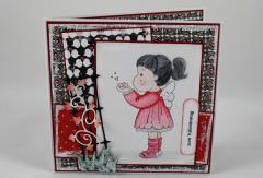 Artikelbild Valentinskarte Herzküsse