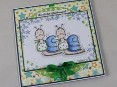 Zwillingskarte Jungs c