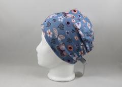 Artikelbild Beanie Schmetterling blau KU 46-48
