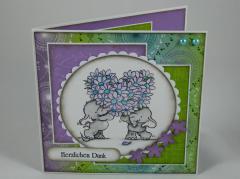 Artikelbild Danke Karte Elefanten