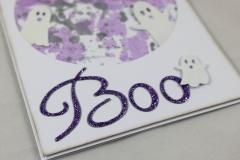 Halloween Karte Boo c