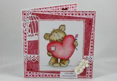 Artikelbild Valentinskarte Bär